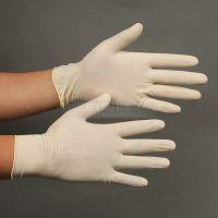 迈思德厂家销售一次性9寸光面乳胶手套,天然乳胶拉伸力强耐刺穿抗磨损