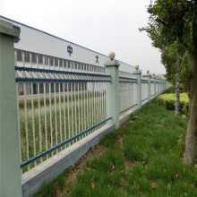 院墙隔离栏杆 围墙护栏长沙 小区围墙护栏厂家