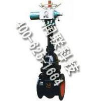 陆丰铁制电动楔式闸阀德标铸钢法兰闸阀Z40H-16P