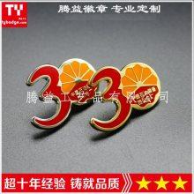 中国石油装备30周年纪念章-专业定做庆典礼品胸针襟章