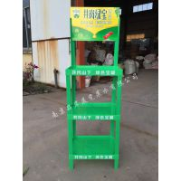 【厂商】胡麻油折叠陈列架花生油塑料货架大豆油拆卸广告展示架