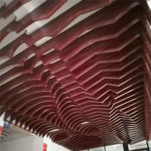 欧百建材 常用防风弧形铝方通吊顶规格有哪些?