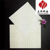 化工行业管道防磨专用高纯氧化铝耐磨陶瓷片