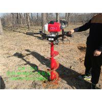 那种农机可以挖树坑 手扶式种植用的挖坑机 土地钻孔机