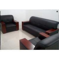 办公室现代办公沙发3+1+1组合 PU单人位 三人位沙发 家具可定制