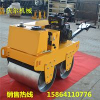 现货供应双轮压路机 手扶式混凝土路面60公分宽柴油振动压实机