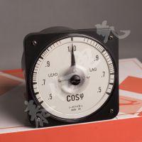 63L18-COS机械功率因数表 指针式三相功率因素表 0.5-1-0.5