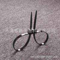 双扣尼龙约束带束缚带 一次性使用约束带12*700mm新光扎带
