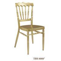 汇迈 酒店餐厅家具 宴会椅椅子 婚庆椅 金属椅 将军椅 会议活动椅 TBY8008