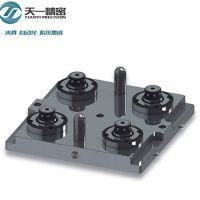TOP1供应4头重力型气动卡盘底座 搭配卡盘面板使用 零点定位系统