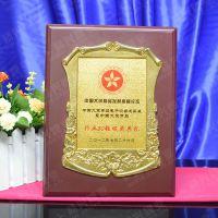 中国电子商品50强行业颁奖典礼 木托奖牌 花框订做奖牌 厂家直销