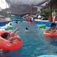 防水布批发 明乐帆布蓄水池 帆布鱼池池生产厂
