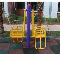 蓬江区健身路径器材用品 小区学校标准健身路径系列单柱儿童摇篮