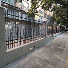 围墙锌钢栅栏可定做规格 花园围墙 阳江隔离围栏 通透性防护栏