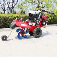 手扶式拖拉机除草犁地机 启航小型多功能开沟机 柴油自走式松土机哪里有卖