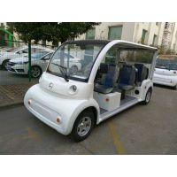 熊猫款8座电动观光车 景区代步车 四轮新能源电动车 场内机动车