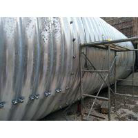 贝尔克钢波纹涵管的成品质量介绍