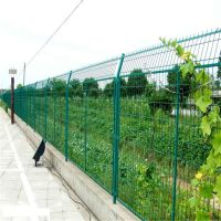绿色铁丝网 广西围栏网 钢丝围墙网