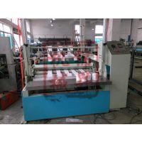 杭州 JS-1200新型多道无纺布柔巾卷机无纺布点断柔巾卷机器纯棉美容柔巾卷生产线