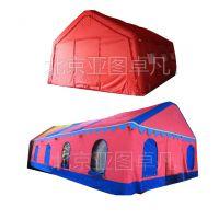 厂家定做红白喜事帐篷 欧式婚宴帐篷 喜宴充气帐篷 流动餐厅帐篷 ,气柱(高强涤纶丝夹网布)