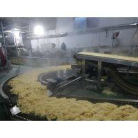 饼干米粉面条生产线180度不锈钢网带转弯输送机