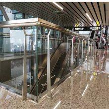 新云 不锈钢楼梯扶手、不锈钢方管立柱 扶手生产厂家