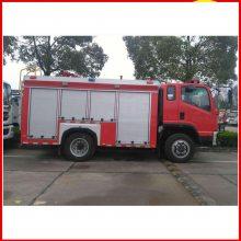 山西煤矿用小型东风2.5吨水罐消防车