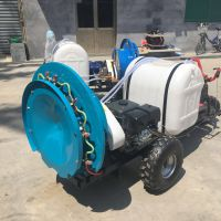 多功能农用喷雾器 启航三轮自走式玉米喷药机 葡萄园风送打药机价格