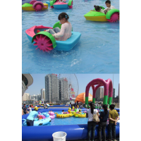 摆摊用的儿童手摇船去哪买 公园里的手摇船在哪买 小孩手摇船生意如何
