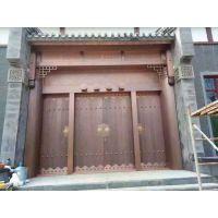 远洋辉铜门 仿铜门 不锈钢镀铜门 北京地区免费测量安装