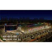 内蒙古商业亮化-上海城楼体亮化