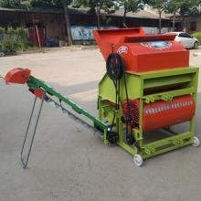 柴电两用花生收获机 500型收获机 批发多型号摘果设备