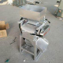 信达定制花生米破瓣机 家用小型电动破碎机 粮食加工设备压碎机