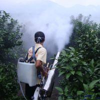 双管水冷弥雾机 小型脉冲式打药机 圣鲁汽油喷雾器
