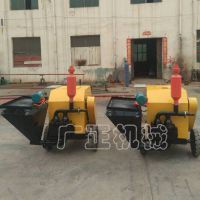广正8.0砂浆输送拖泵 小型混凝土输送泵 水泥高压注浆泵