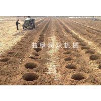 绿化开发种植挖坑机 地面钻孔机 植树挖窝机 润众