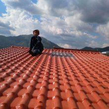 湖北十堰房顶装饰瓦 室内外屋顶装饰瓦3.0厚树脂瓦厂家批发