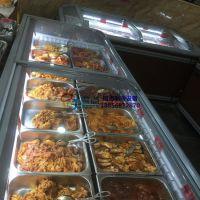 自助火锅店冷冻展示柜,安徽生鲜超市组合岛柜,徽点速冻水饺汤圆冷藏柜