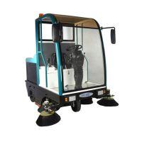 上海驾驶式电动扫地机维修|依晨半封闭驾驶式扫地车|电动真空吸尘车