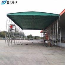 湖州长兴县货车挡雨蓬推拉雨棚批发仓库储物活动雨棚布