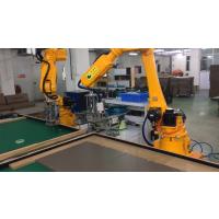 新力光木头锁螺丝机器人工厂