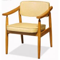 倍斯特定制简约现代风西餐咖啡餐厅实木椅创意日韩料理中餐扶手椅
