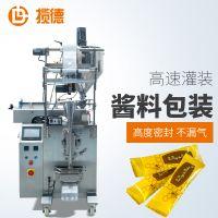 小型立式液体包装机 自动蜂蜜糖浆包装机械 袋装蜂蜜茶包装机器