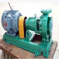 喷泉水泵 IHF65-50-160衬氟化工离心泵 合金离心泵 防腐蚀离心水泵