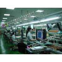 佛山LCD电视机生产线,南海显示屏检测老化流水线,顺德倍速链流水线,广州收款机自动装配线