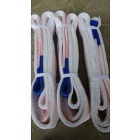 优质耐酸碱白色扁平吊装带厂家经销批发售价