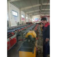 凯瑞德机械KJ-450数控钢筋锯切套丝打磨生产线