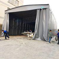 太仓市电动推拉帐篷定做_布 户外工厂大型仓库雨棚厂家