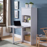 书柜书桌一体自由组合家用现代简约多功能学生桌电脑桌 家具厂