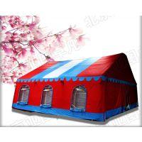 厂家定做大型户外婚庆充气帐篷 红白喜事充气大棚 流动餐饮充气帐篷房,气柱(高强涤纶丝夹网布)